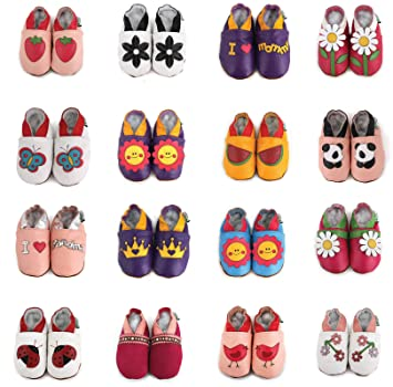 Amazon.com   Little Piggy Soft Sole Leather Baby Shoes Size  6-12 Month    Toy Banks   Baby 4d3deb5189cd