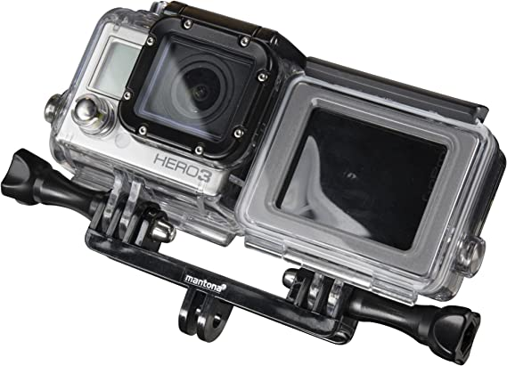 Mantona 21051 Double Befestigungsadpter Kamera