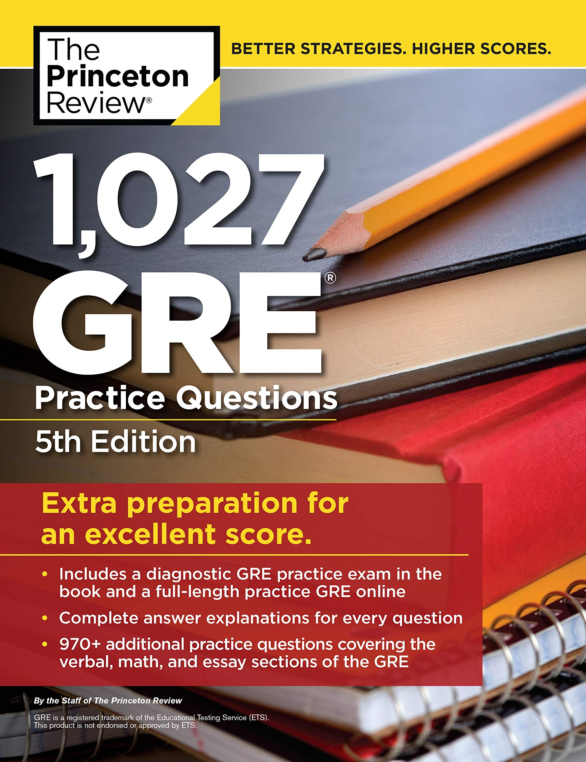 Buy 1, 027 GRE Practice Questions, 5th Edition: GRE Prep for an Excellent  Score (Graduate School Test Preparation) Book Online at Low Prices in India  | 1, ...