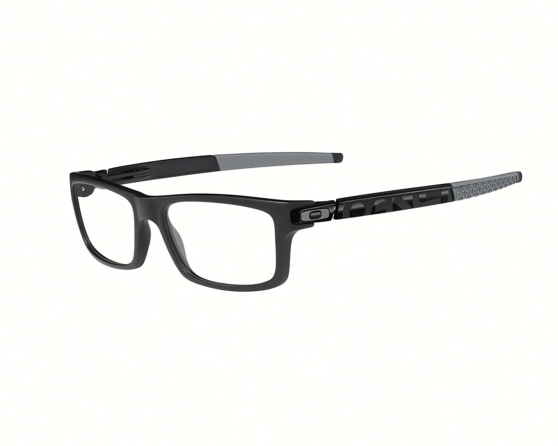 7e950dd09d Oakley Unisex Eyewear Frames OX8026-1354 54mm Currency Satin Black Grey   Amazon.co.uk  Clothing