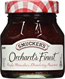 Smucker's  Orchard's Finest  Pacific Mountain Strawberry Preserves, 12-Ounce (Pack of 6)