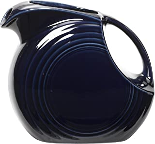 product image for Fiesta 67-1/4-Ounce Large Disk Pitcher, Cobalt