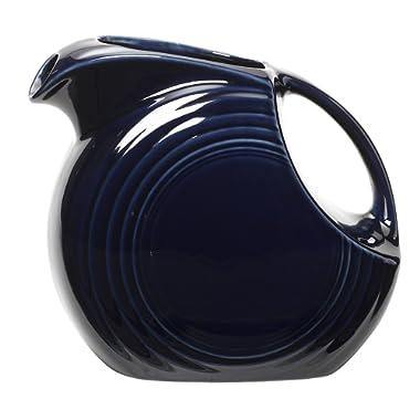 Fiesta 67-1/4-Ounce Large Disk Pitcher, Cobalt