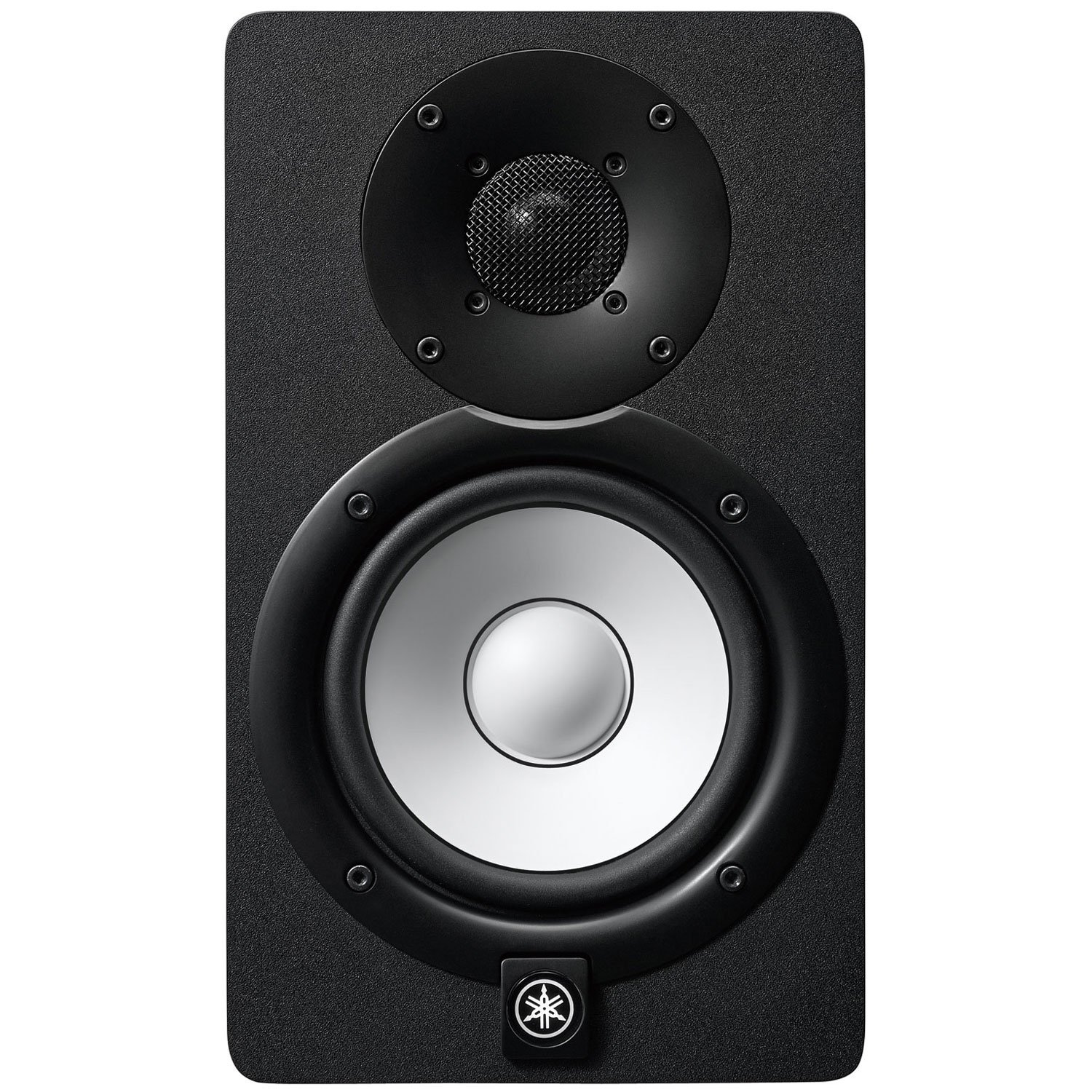 Pair of Yamaha HS5 70W Powered 2-way Studio Monitors w//MoPads and Cables