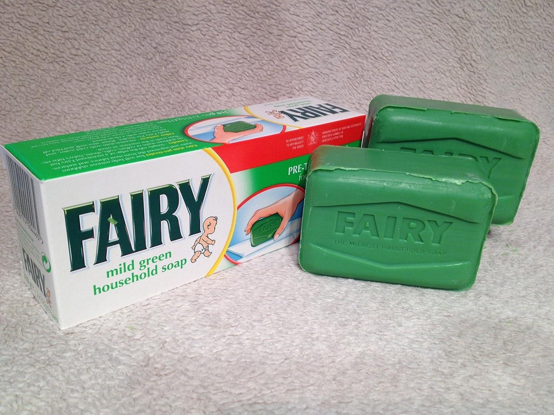 Fairy Mild Green Household Soap, Pre Treatment Bar: Amazon.co.uk: Kitchen U0026  Home