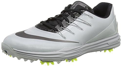 Nike Lunar Control 4, Zapatillas de Golf para Hombre, Gris (Wolf mtlc Dark Grey-Black-Volt), 38.5 EU: Amazon.es: Zapatos y complementos