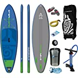 "Starboard WIDE POINT Zen Inflatable SUP 2017 (10'5""x32""x4.75"") Incl. Pumped Up SUP ERS Gear Pack"