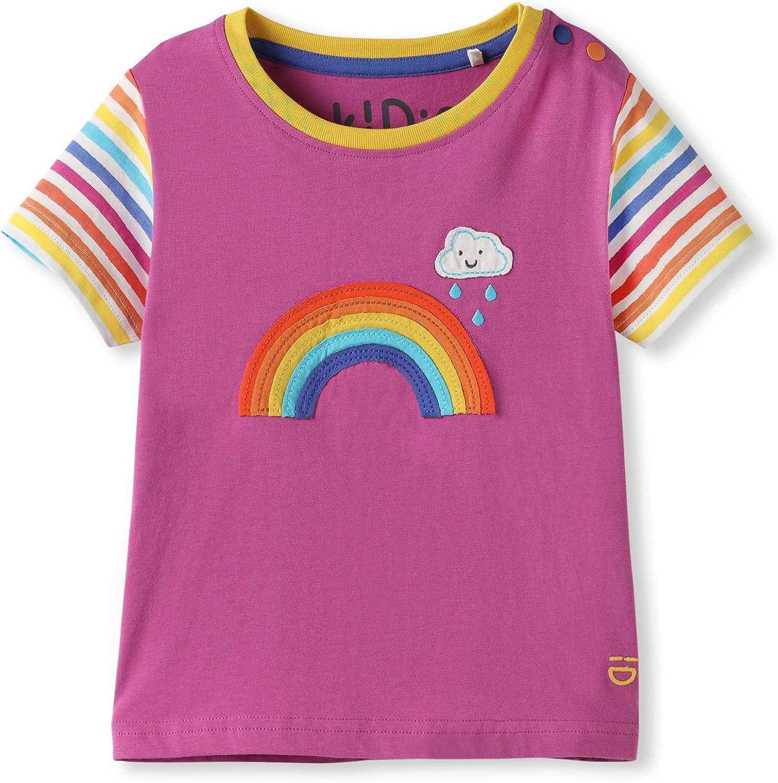 Ni/ñita Ni/ñito 0-4 A/ños Camiseta de Manga Corta Beb/é Ni/ña Ni/ños peque/ños Algod/ón org/ánico