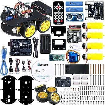 Amazon.com: Elegoo EL-KIT-012 UNO Project Smart Robot Car Kit V 3.0 on