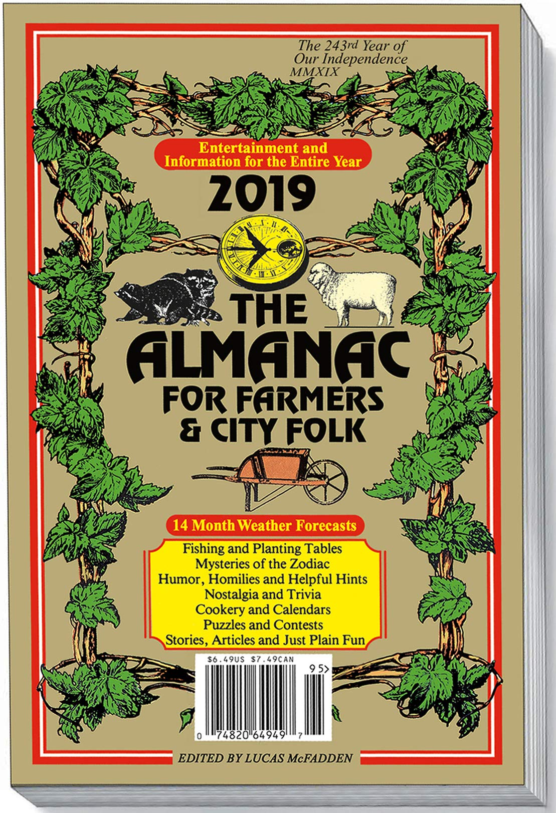The Almanac for Farmers & City Folk: Various Contributors, Lucas McFadden:  Amazon.com: Books