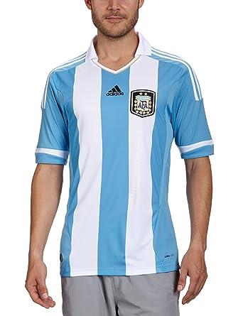 Adidas - Camiseta de fútbol sala para hombre, tamaño XL, color columbia azul/