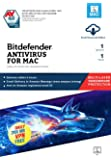 BitDefender Antivirus For Mac Latest Version with Ransomware Protection - 1 User, 1 Year (Email Delivery in 2 hours - No CD)