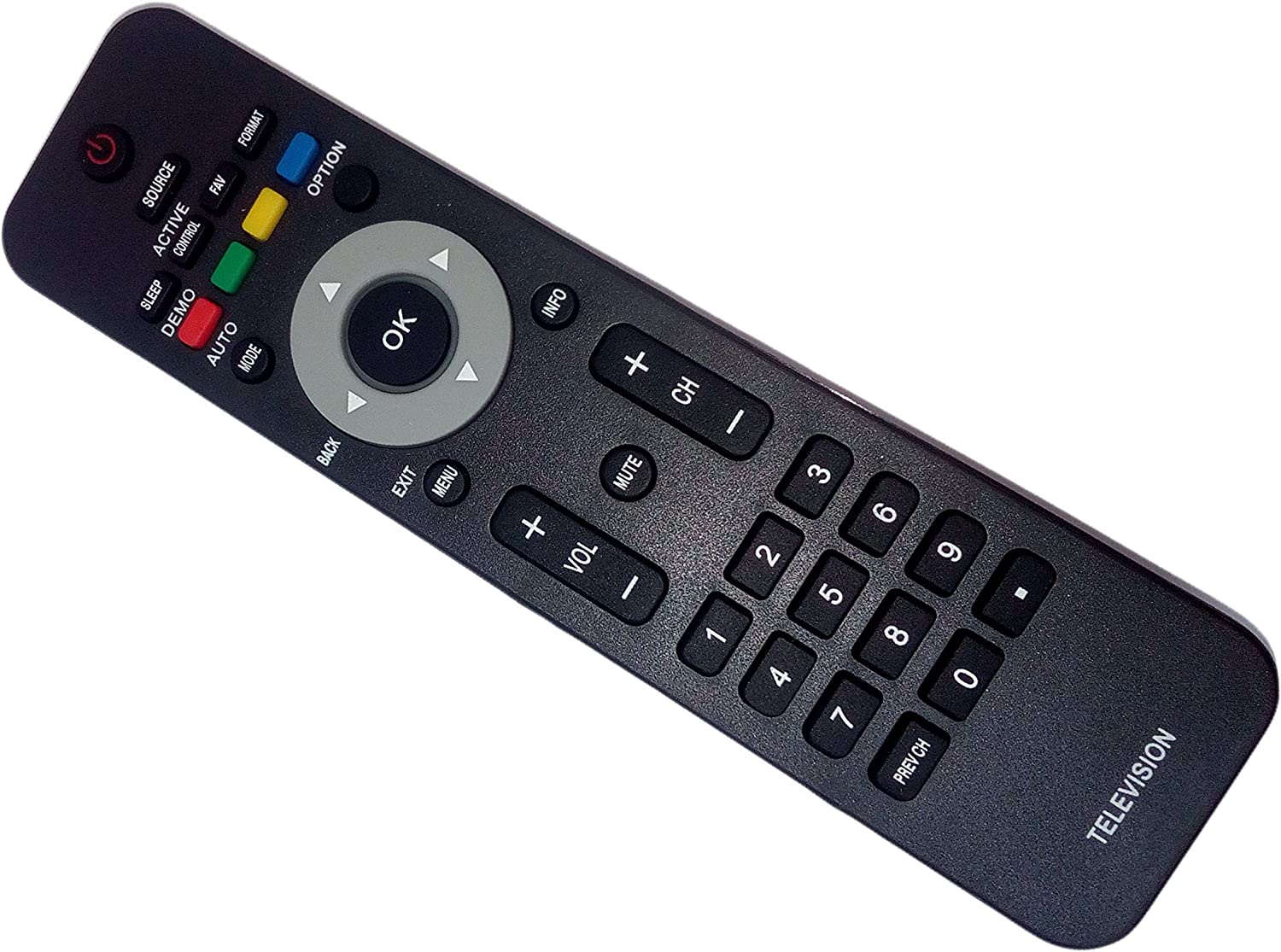 NEW PHILIPS TV REMOTE for almost all Philips Brand TV 32PFL4507//F7 40PFL4707//F7