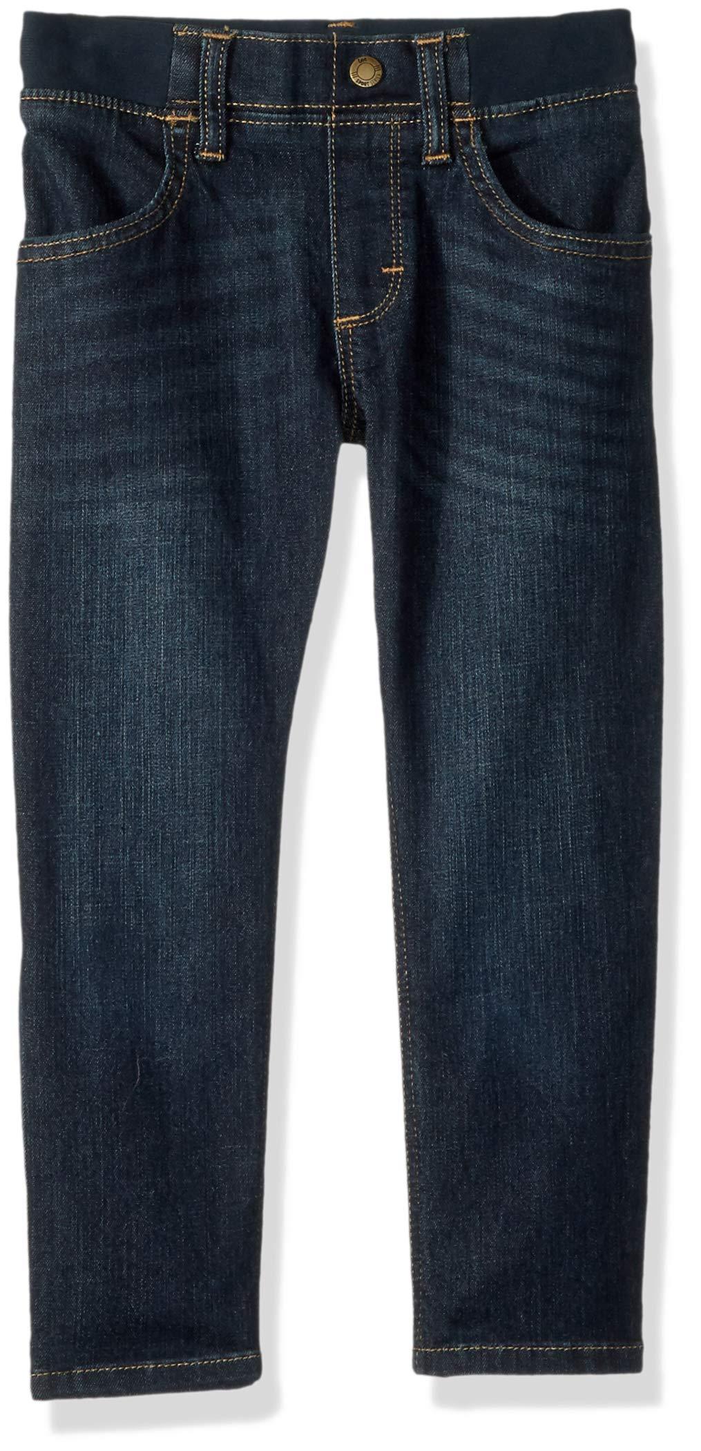 LEE Little Boys' X-Treme Comfort Pull-on Relaxed Tapered Leg Jean, Mullen, 6 Regular