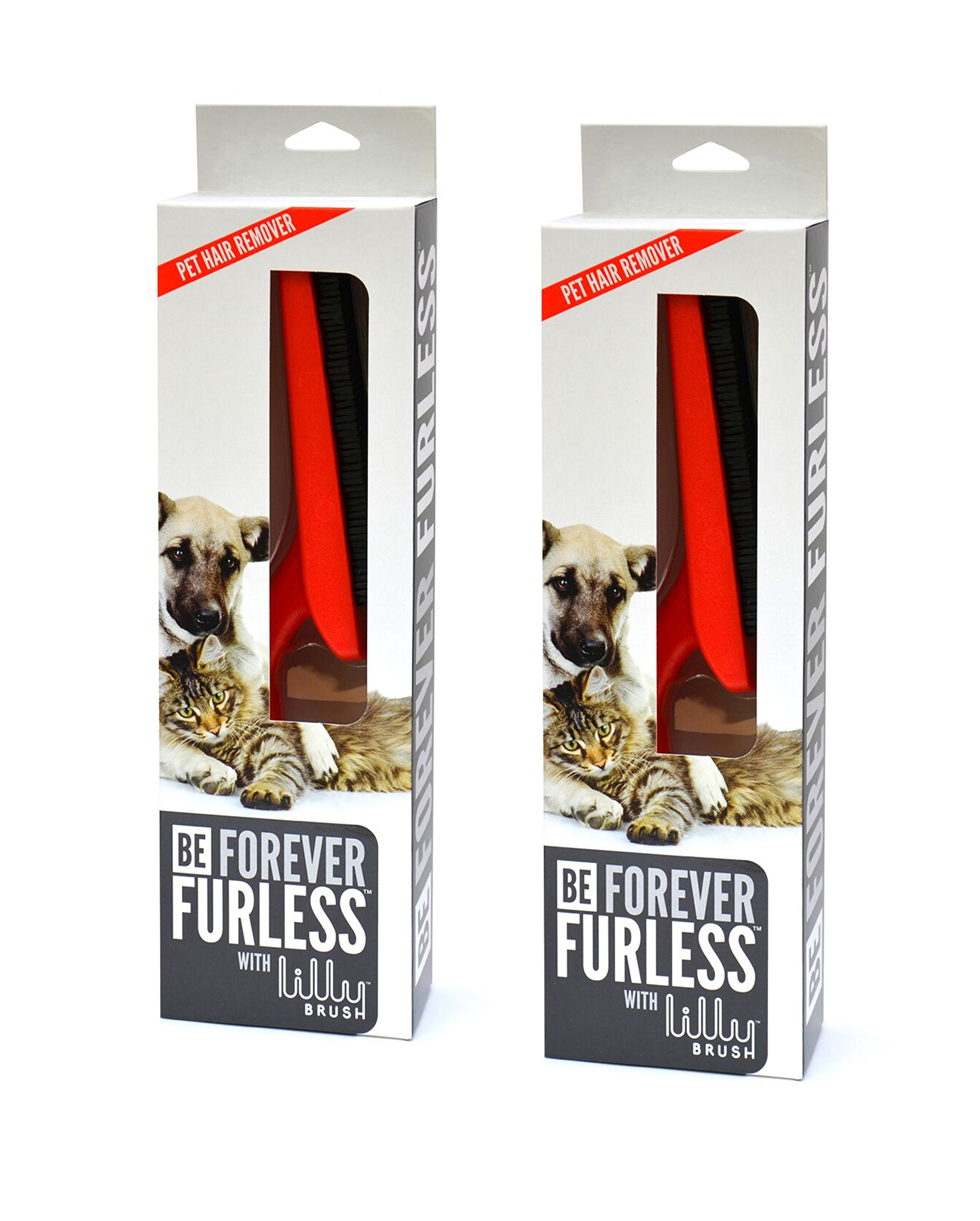 Lilly Brush Be Forever Furless- Two Pack by Lilly Brush