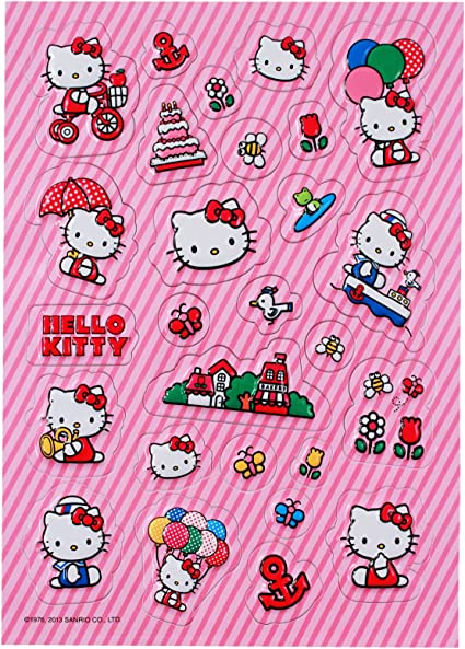 Hello Kitty Assorted Stickers// New # 1