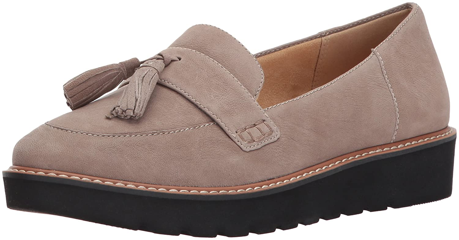 Naturalizer Women's August Slip-on Loafer B06W2LFDB5 12 W US|Taupe