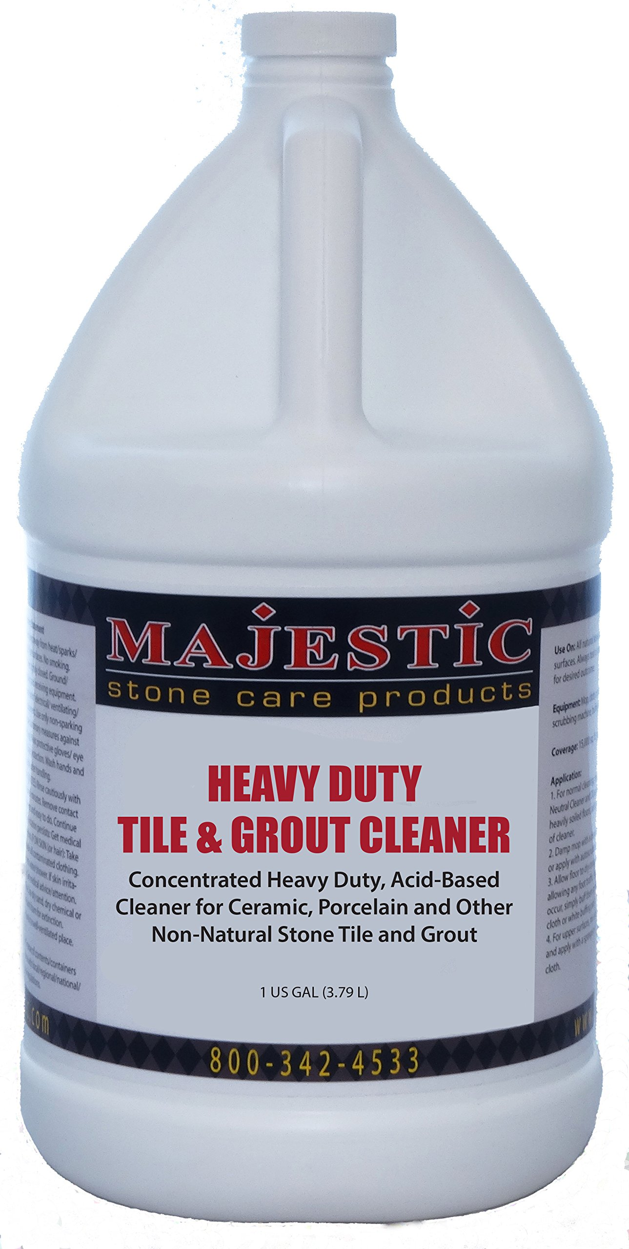 Heavy Duty Tile & Grout Cleaner (Acid Based) Gal.