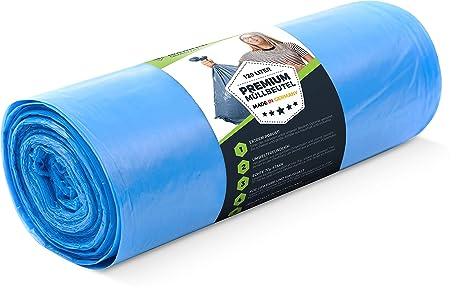 Bolsas de basura 120 litros - 70 μ 25 piezas rollo - Premium ...