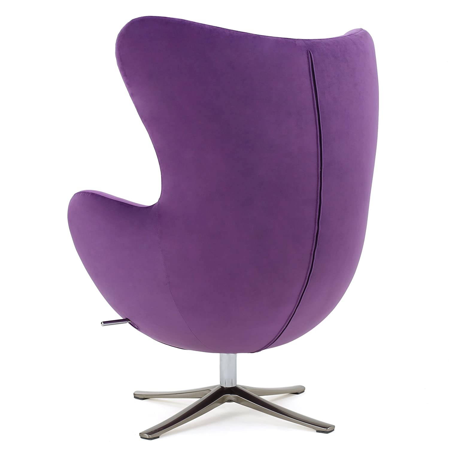 Amazon Glendon Arne Jacobsen Style New Velvet Swivel Contour