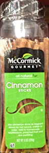 McCormick's Gourmet Collection CINNAMON STICKS 8oz (12 Pack)