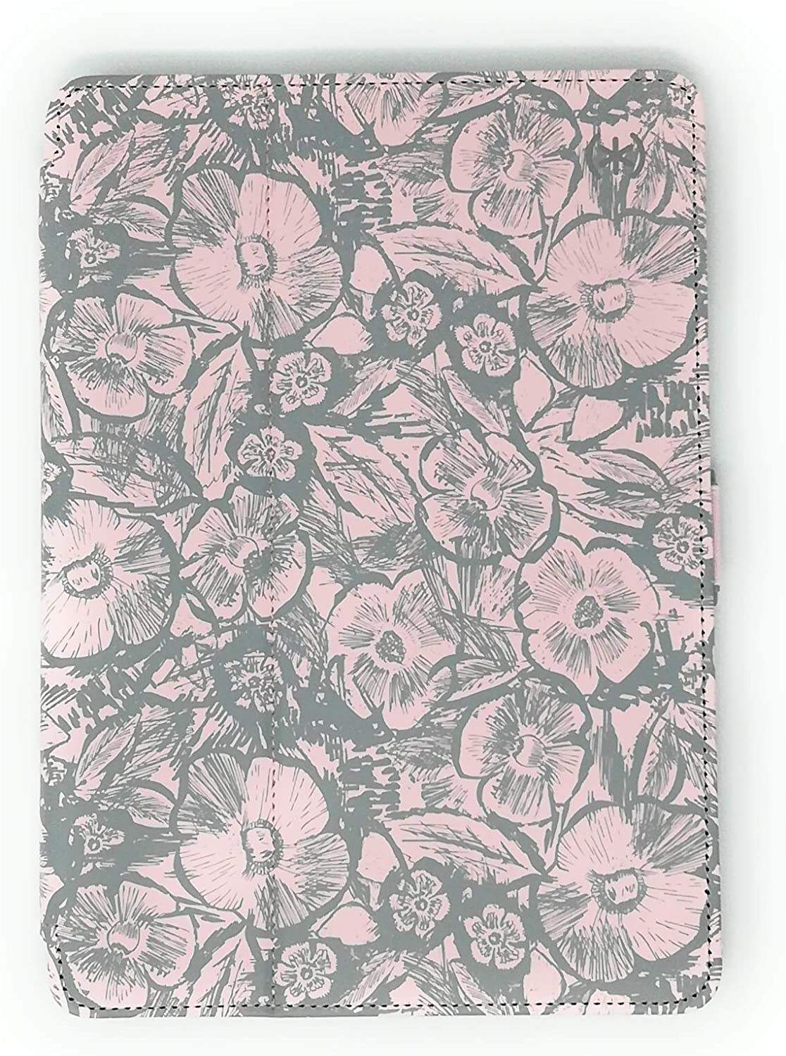 Speck Products Stylefolio Print iPad 9.7-Inch Case and Stand, (2017/2018), 9.7-Inch iPad Pro, iPad Air 2/Air, Sketchedfloral Nickel Grey/Quartz/Slate