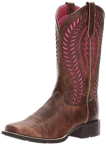 97d6a8a408d Ariat Women's Quickdraw Venttek Western Cowboy Boot