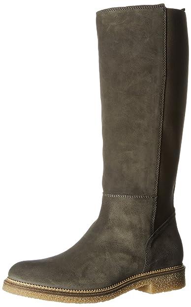 be02933b3de4 Hilfiger Denim Damen H1385AZEL 2B Stiefel, Grau (Steel Grey), 40 EU