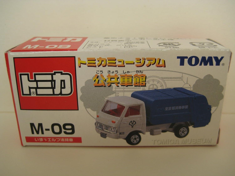 tomar hasta un 70% de descuento Tomica Museo construccin de de de locomotora pblica M-09 [barredora Isuzu Elf] (Japn importacin / El paquete y el manual estn escritos en japons)  primera vez respuesta