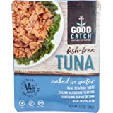 Good Catch Plant Based Fish Free Tuna - Naked In Water, 3oz Pouch, 3oz