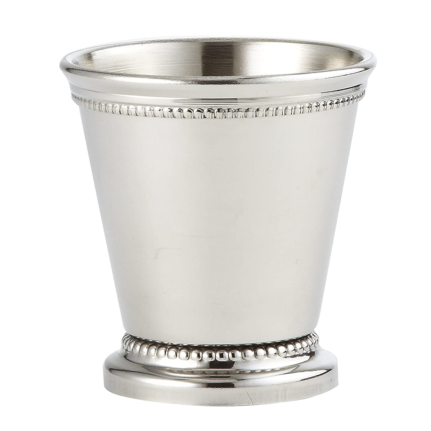 Elegance Mini Beaded Mint Julep Cup - 4 oz. - 2 3/4 Leeber Limited USA 90476