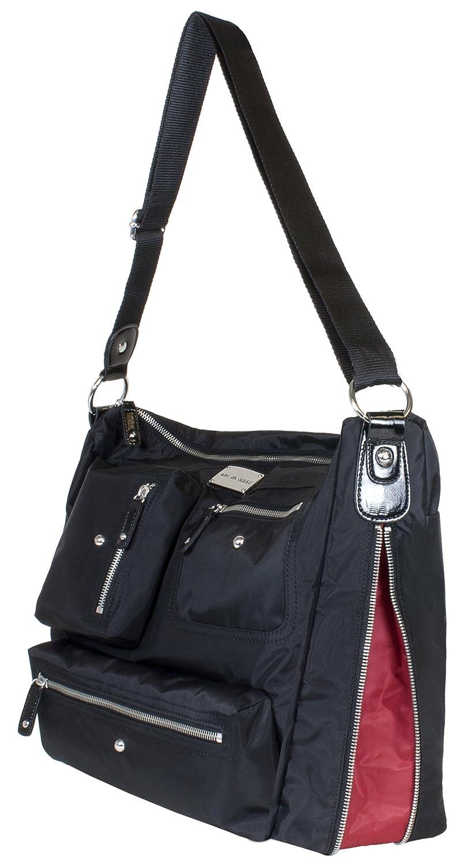 Amazon.com: Amy Michelle Iris bolsa de pañales, Negro: Baby