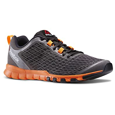 Reebok Men's Everchill Train Training Shoes (10, Coal/Electric Peach/Black)
