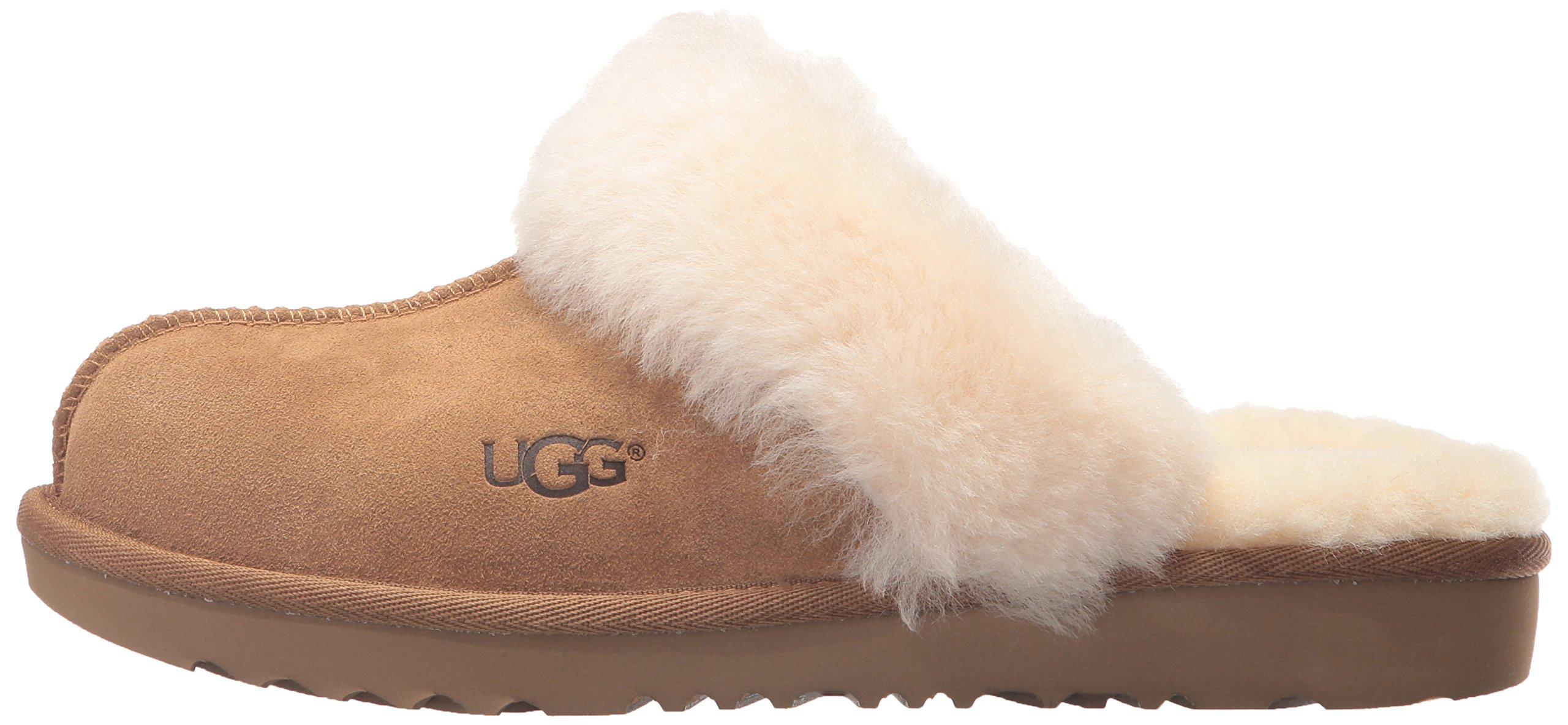 UGG Girls K Cozy II Slipper, Chestnut, 13 M US Little Kid by UGG (Image #5)