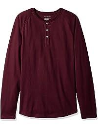 Amazon Essentials Men's Slim-Fit Long-Sleeve Henley Shirt