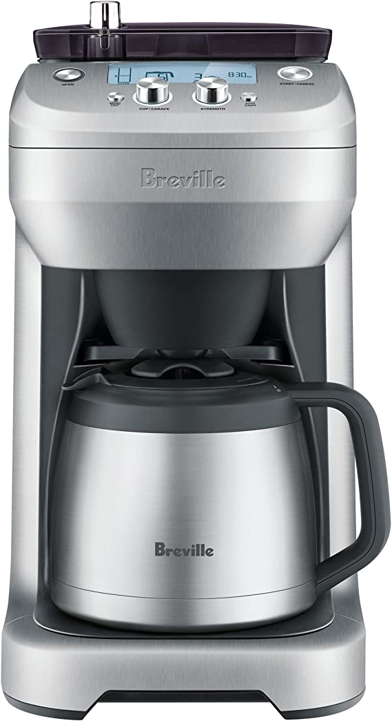 Breville bdc650bss Grind Control, Plata: Amazon.es: Hogar