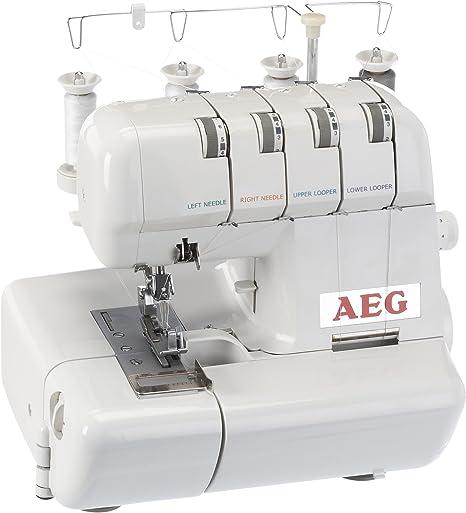 AEG 320 - Máquina de Coser overlock: Amazon.es: Hogar