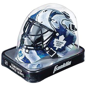 new product ad65d 8823a FRANKLIN Sports NHL Team Series Mini Goalie Mask-Toronto Maple Leafs, Goalie  Masks - Amazon Canada