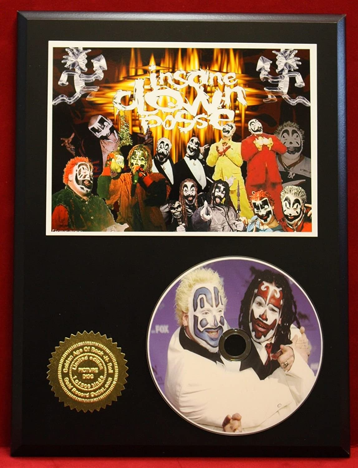 Insane Clown Posse Limited Edition Picture Cd Collectible Rare Gift Wall Art