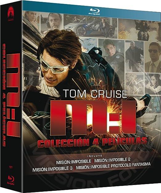 Misión Imposible: Colección 4 películas [Blu-ray]: Amazon.es: Tom ...