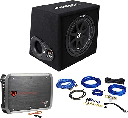 "Kicker VCWR122 COMP12 12/"" Car Audio Vented Sub Box Enclosure Only!"