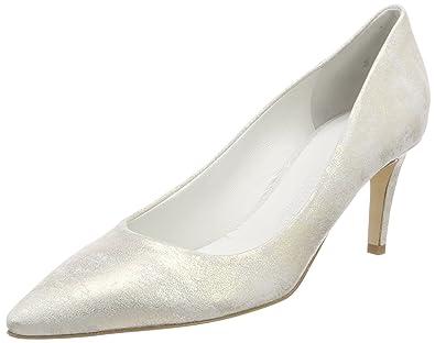 decaef7a1e7e4 Kennel und Schmenger Women's Liz Closed Toe Heels Silver (Ghiaccio 336) 4.5  UK