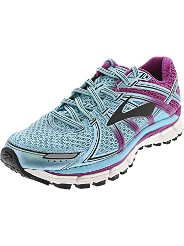 398ee6c47b84a Brooks Women s Adrenaline GTS 17 Iceland Blue Hollyhock Black 6.5 ...