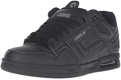 Osiris Men's Peril Skateboarding Shoe, Black/Grey, ...