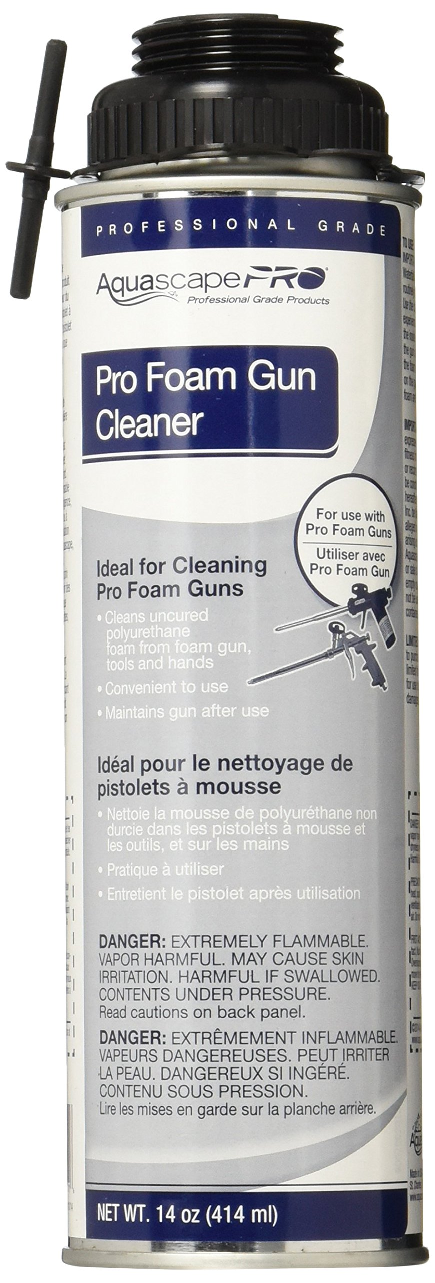 Aquascape Professional Foam Gun Cleaner For Pond Waterfall And Water Features 14 Ounce 22011 Buy Online In Andorra At Andorra Desertcart Com Productid 88185731