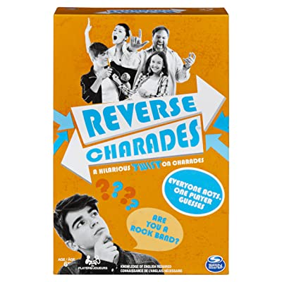 Reverse Charades, Fast-Paced Fun Family Party Game: Toys & Games