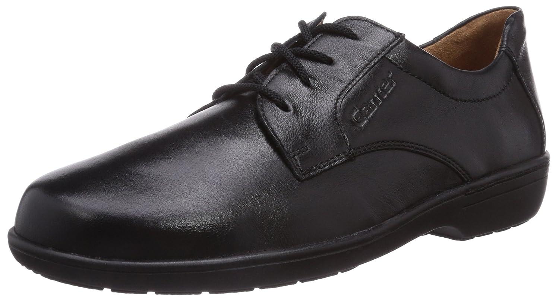 Ganter Anke, Weite G - Zapatos De Cordones para Mujer 40.5 EU Negro