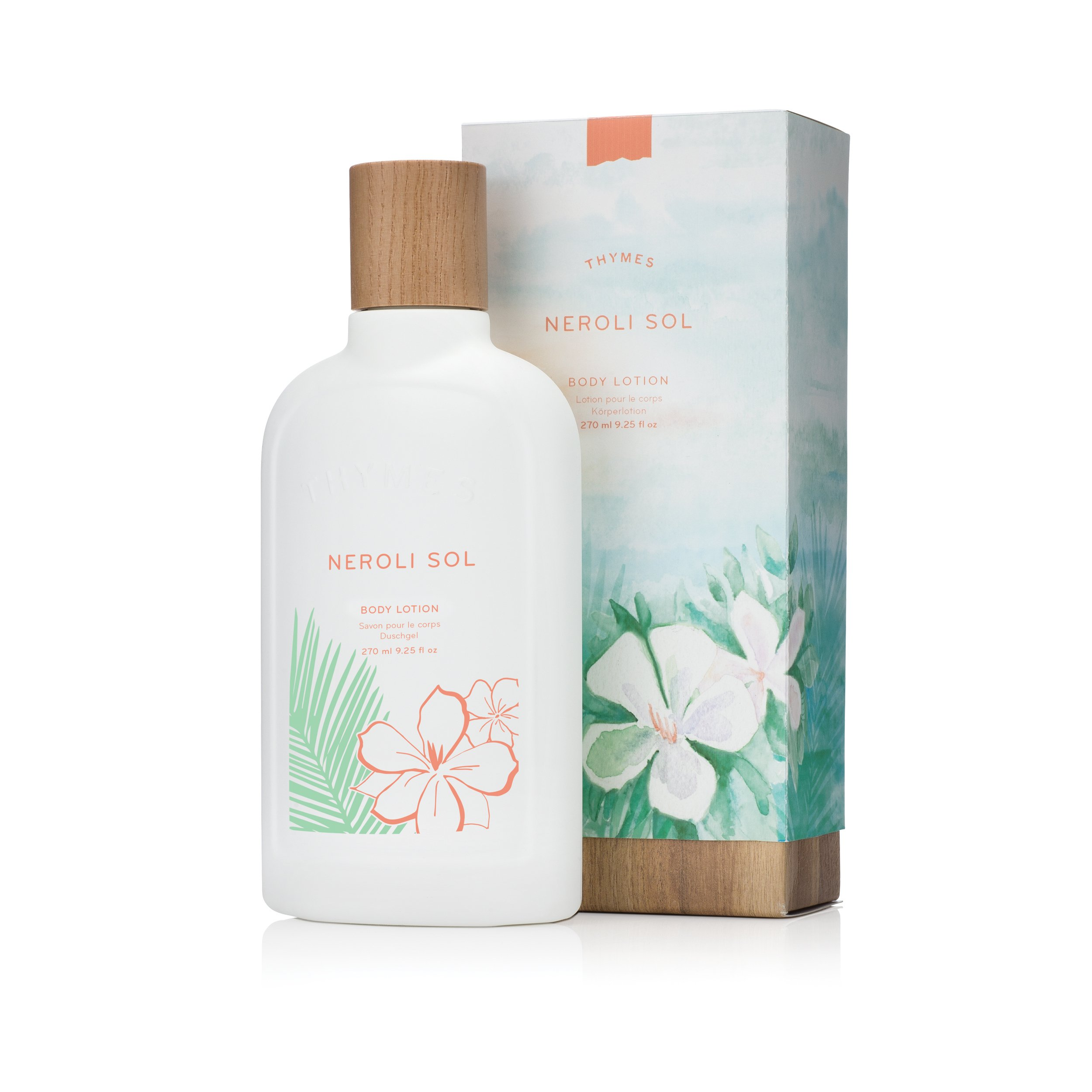 Thymes - Neroli Sol Body Lotion - Moisturizing Lotion with Coconut Oil and Shea Butter - 9.25 oz by Thymes