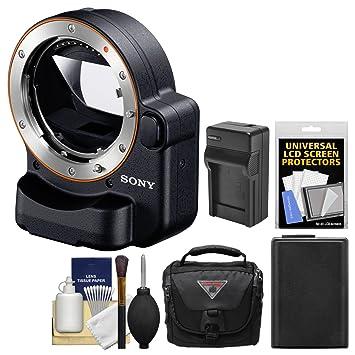 Amazon.com: Sony Alpha la-ea4 adaptador (Attach objetivos ...