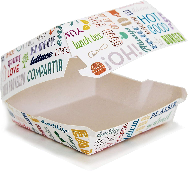 Extiff - Lote de 50 Cajas de cartón para Mantequilla (17,5 x 18 x 7,5 cm), Color Blanco: Amazon.es: Hogar
